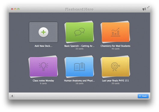flash card app for mac